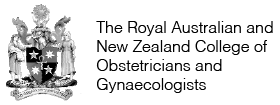 Coat of arms. The Royal Australian and New Zealand College of Obstetricians and Gynaecologists